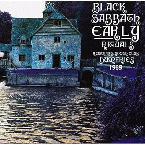 Black Sabbath - Early Rituals - Cd - Ed. Limitada Importado!