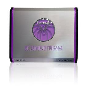 Amplificador Soundstream Stl4.1600d 4ch 1600w Colores A/
