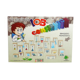 Kit Cientista Brinquedo Pedagógico Construtor Infantil Jogo