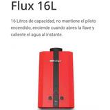 Boiler Lp Flux, Mirage, 16l/min; Baja Presión Agua, Rojo