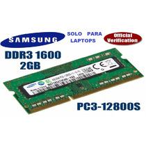 Memoria Ram Ddr3/1600 Mhz 2gb Pc3-12800 - Instalación Gratis
