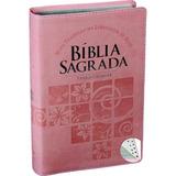 Bíblia Evangélica Nova Linguagem Letra Gigante Índice Rosa
