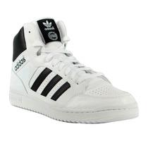 Zapatillas Adidas Pro Play Hombre Blanco