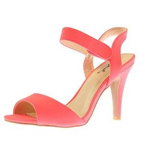 Zapatillas Qupid Coral Rosa Vestidos Bodas De Fiesta