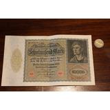 Billete 10000 Marcos Alemanes De 1922 Vf++ En La Plata!!!