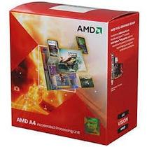 Processador Fm1 A4 3400 2.7ghz +radeon Hd 6410d Box Na Caixa