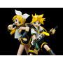 Rin & Len Kagamine Set De 2 Figuras De Vocaloid Combo
