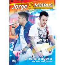 Jorge E Mateus - A Hora É Agora - Ao Vivo Em Jurere - Dvd