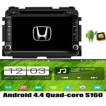Kit Central Multimidia Tv Android Honda Hrv Quad Core