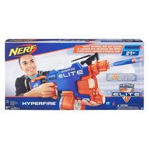 Nerf Elite Hyperfire Metralhadora Lança Dardos B7661 Hasbro