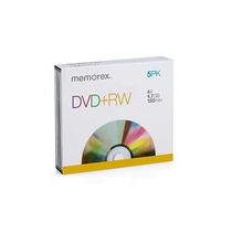 Memorex Dvd+rw Imation Memorex 5pk Slimline Jewel Case