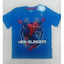 Polos Originales Spiderman (hombre Araña) Para Niños