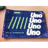Manual Original Fiat Uno S Cs 1.6r Furgão - 1991