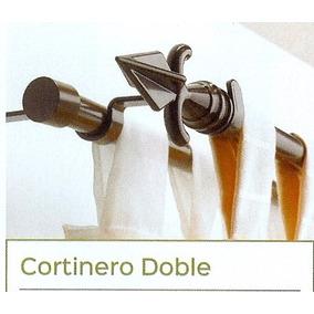 Cortineros Metálicos Extendibles Dobles 1.40m Hasta 2.60m