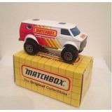 Matchbox 4x4 Chevy Van 1981 Tailandia Adesivo Matchbox Lado