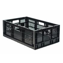 Caja De Plastico C.p.r Colapsable 21 Med 60 X 40 X 21h