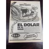 Diario Ambito Financiero Suplemento Especial Dolar Mayo 1984