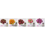 Set 10 Picos Rusos Parpen Flores Reposteria Decoracion