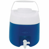 Garrafa Térmica Cap/ 8 Litros Com Torneira Obba - Azul