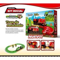 Trencity Kit Inicial Tren De Reciclado Rojo U Verde15 Piezas