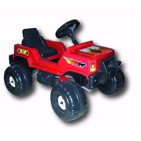 Jeep A Pedal Cuatriciclo Karting Infantil 4x4