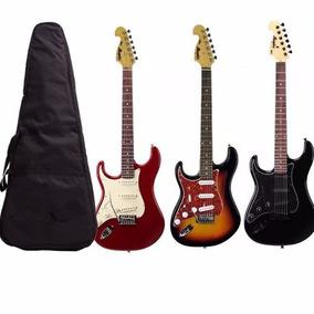 Guitarra Canhoto Tagima Memphis New Mg32 + Capa Bag E Cabo