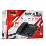 Telefone Celular Rural De Mesa Dual Chip Bedin Bdf02 Desbloq