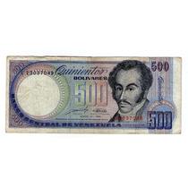 Venezuela Billete De 500 Bolivares 1990 - P#67d * Argentvs