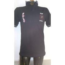 Camisa Playera Tipo Polo, Color Negro Polo Ralph Lauren