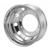 Roda De Alumínio Traseira 22,5 X 8,25 10 Furos Para Pesados