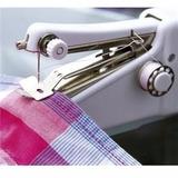 Máquina De Costura Portátil Tecidos E Roupas Saia Vestidos