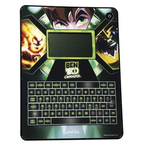 Tablet Ben 10 Brinquedo Educativo Touch Bilíngue Meninos