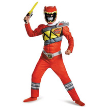 Disfraz Power Rangers Dino Charge Musculoso
