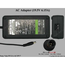 Cargador Notebook Sony 19.5v 6,15a K25 K47 A230 A150 K33 A27