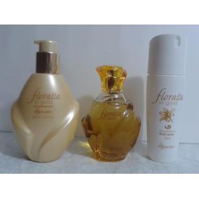 Kit Floratta In Gold +des.+crem Hidrt Corporal Boticário