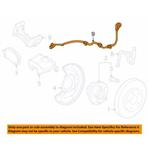 Sensor Abs Dianteiro Chevrolet Cruze 2011 - 2014 Original
