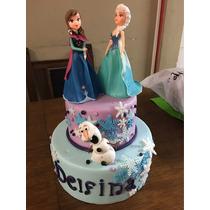 Torta/maqueta Frozen 2 Pisos