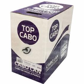 Cabo De Rede Cat-5e De Alta Qualidade Branco Azul E Preto