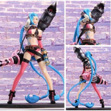 Figura Gamer League Of Legends Lol Jinx 24cms Caja Con Base