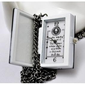 Reloj Death Note Steampunk Reloj De Bolsillo Collar