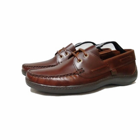 Zapato Boating Color Marron