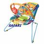Cadeira Bebê Descanso Vibratória Musical Safari Baby !
