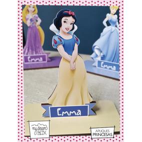 Souvenir Aplique Madera 40cm Princesas Disney Blancanieves
