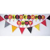 Cartel Globitos En Goma Eva Cumpleaños Comunión Bautismo