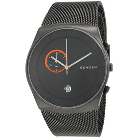 Relógio Skagen Havene Grey Dial Stainl. Steel Mesh Bracelet