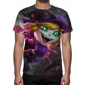 Camisa, Camiseta League Of Legends Tristana Feiticeira