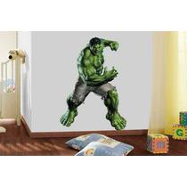 Adesivo De Parede Super Herói Marvel Hulk Os Vingadores