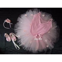 Kit Roupa Infantil Bailarina
