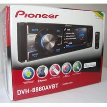 Dvd Player Pioneer Dvh-8880avbt Bluetooth Usb Tela 3,5 1 Din