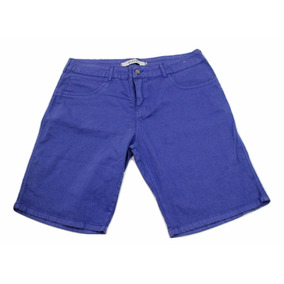 Bermudas Shorts Feminina Plus Size - Preço Barato 5003